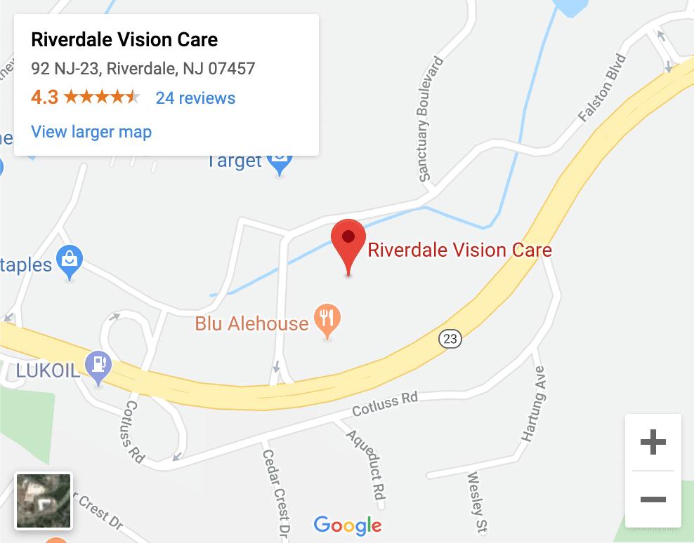 Optometrist Riverdale NJ